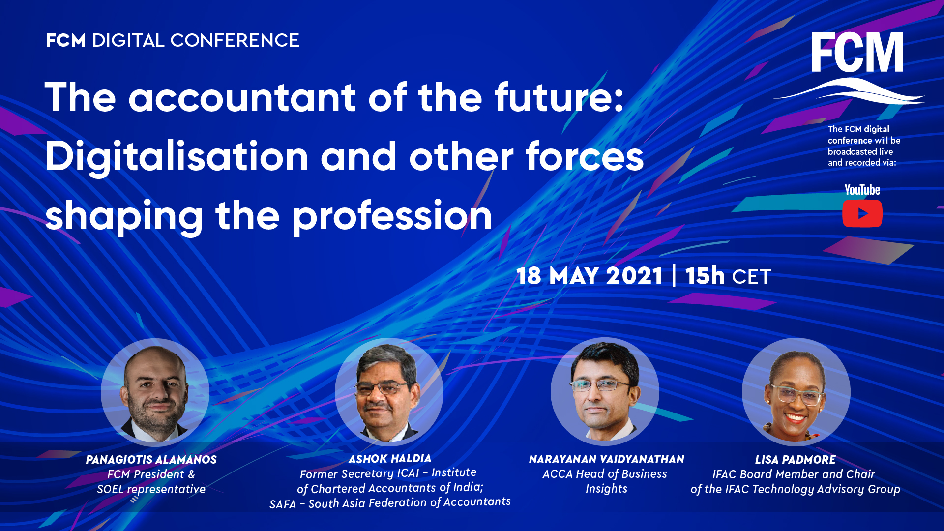 FCM Digital Conference on New Tecnologies & Speakers 18.05.21